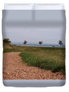 Gravel Path Duvet Cover