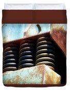 Gravel Pit Warrior Power Screen 05 Duvet Cover