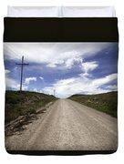 Gravel Road Duvet Cover