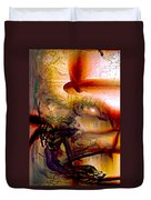 Gravity Of Love Duvet Cover by Linda Sannuti