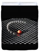 Gravity Simulation Duvet Cover