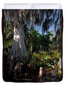 Gray Cypress Duvet Cover