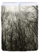 Gray Dawn Duvet Cover