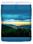 Gray Mountain Duvet Cover