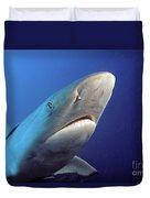Gray Reef Shark Duvet Cover