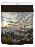 Graz At Work Duvet Cover