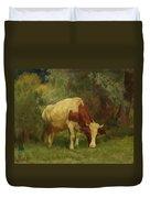 Grazing Cow Duvet Cover