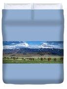 Grazing Herd Duvet Cover
