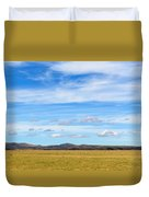Grazing Sheep - Maniototo Plain Duvet Cover