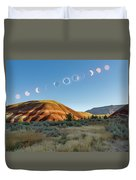 Great American Eclipse Composite 2 Duvet Cover