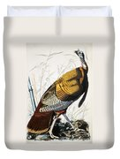 Great American Turkey Duvet Cover