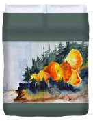 Great Balls Of Fire Duvet Cover