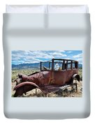 Great Basin Jalopy Duvet Cover