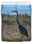 Great Blue Heron - 8 Duvet Cover