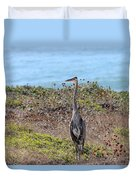 Great Blue Heron - 9 Duvet Cover