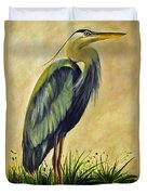 Great Blue Heron Duvet Cover