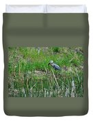 Great Blue Heron Series 5 Of 10 Duvet Cover