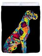 Great Dane Big Dog Pet Full Body Chillin True Friend Duvet Cover