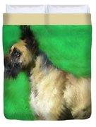 Great Dane Portrait  Duvet Cover