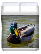 Great Day For A Swim Duvet Cover