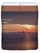 Great Egg Harbor Ocean City New Jersey Duvet Cover