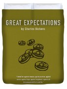 Great Expectations By Charles Dickens Greatest Books Ever Series 023 Duvet Cover