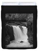 Great Falls In  Paterson Nj Duvet Cover
