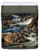 Great Falls Overlook #5 Duvet Cover