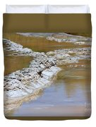 Great Fountain Geyser Firehole Lake Drive Duvet Cover