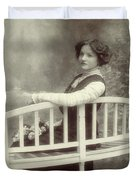 Great Grandmother Duvet Cover by Wim Lanclus