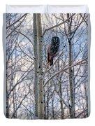 Great Grey Owl Duvet Cover