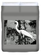 Great Heron Duvet Cover