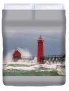 Great Lakes Fury Duvet Cover