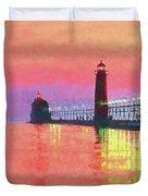 Great Lakes Light Duvet Cover