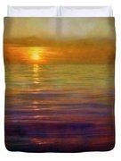 Great Lakes Setting Sun Duvet Cover