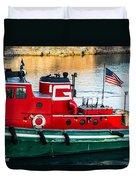 Great Lakes Towing Tug Florida Duvet Cover