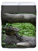 Great Look At A Komodo Monitor Lizard With Long Claws Duvet Cover