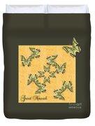 Great Nawab Butterfly Wheel Duvet Cover