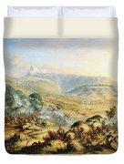 Great Peak Of The Amatola-british-kaffraria  Duvet Cover