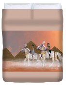 Great Pyramids And Nobility Duvet Cover