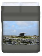 Great Rock Poulnabrone Portal Tomb Duvet Cover