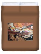 Great Room At Lascaux Duvet Cover