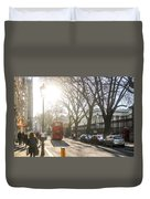 Great Russell St. In The Afternoon Duvet Cover