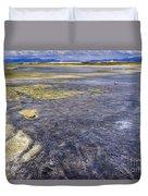 Great Salt Lake Basin Duvet Cover