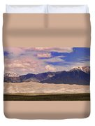 Great Sand Dunes Panorama 2 Duvet Cover