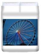 Great Smoky Mountain Wheel Duvet Cover