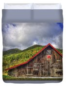 Great Smoky Mountains Barn Duvet Cover