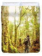 Great Tasmania Short Walks Duvet Cover