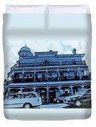 Great Western Perth Cyan Duvet Cover