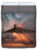 Great White Vulcan Duvet Cover